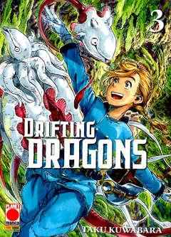 Copertina DRIFTING DRAGONS n.3 - DRIFTING DRAGONS, PLANET MANGA
