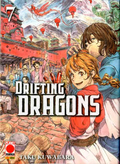 Copertina DRIFTING DRAGONS n.7 - DRIFTING DRAGONS, PLANET MANGA