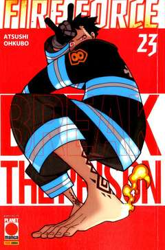Copertina FIRE FORCE n.23 - MANGA SUN 134, PLANET MANGA