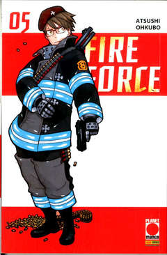Copertina FIRE FORCE Ristampa n.5 - FIRE FORCE - Ristampa, PLANET MANGA