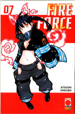 Copertina FIRE FORCE Ristampa n.7 - FIRE FORCE - Ristampa, PLANET MANGA