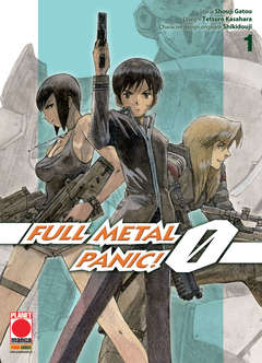 Copertina FULLMETAL PANIC! ZERO n.1 - FULLMETAL PANIC! ZERO, PLANET MANGA