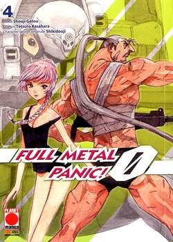 Copertina FULLMETAL PANIC! ZERO n.4 - FULLMETAL PANIC! ZERO, PLANET MANGA