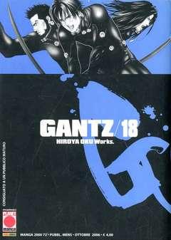 Copertina GANTZ n.18 - GANTZ (m37), PLANET MANGA