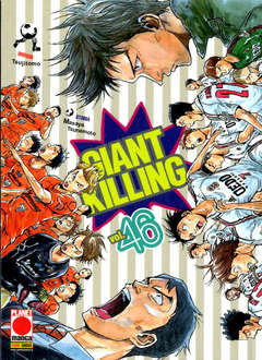 Copertina GIANT KILLING n.46 - GIANT KILLING, PLANET MANGA
