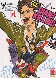 Copertina GIANT KILLING n.1 - GIANT KILLING, PLANET MANGA
