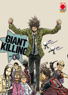 Copertina GIANT KILLING n.9 - GIANT KILLING, PLANET MANGA