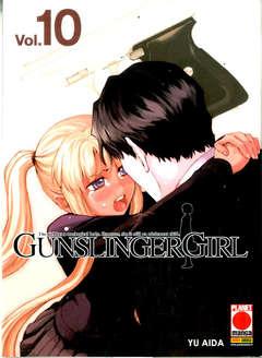 Copertina GUNSLINGER GIRL (m15) n.10 - GUNSLINGER GIRL, PLANET MANGA