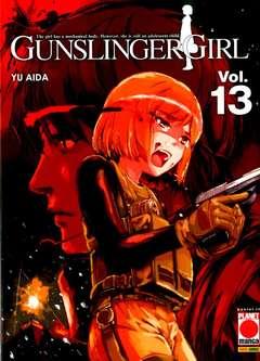 Copertina GUNSLINGER GIRL (m15) n.13 - GUNSLINGER GIRL, PLANET MANGA