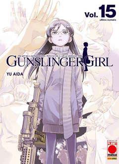 Copertina GUNSLINGER GIRL (m15) n.15 - GUNSLINGER GIRL, PLANET MANGA