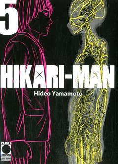 Copertina HIKARI-MAN n.5 - HIKARI-MAN, PLANET MANGA