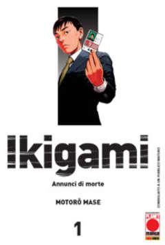 Copertina IKIGAMI n.1 - IKIGAMI (m10), PLANET MANGA