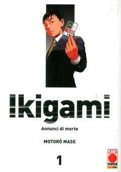 Copertina IKIGAMI n.0 - IKIGAMI serie completa da 1 a 10, PLANET MANGA