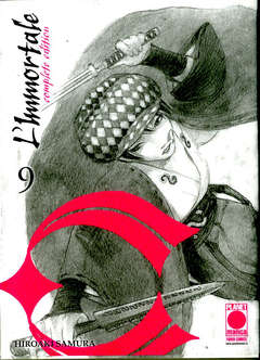 Copertina IMMORTALE Complete Edit. (m15) n.9 - L'IMMORTALE - Complete Edition, PLANET MANGA