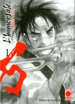 Copertina IMMORTALE Complete Edit. Rist. n.1 - L'IMMORTALE - Complete Edition Ristampa, PLANET MANGA