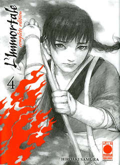 Copertina IMMORTALE Complete Edit. Rist. n.4 - L'IMMORTALE - Complete Edition Ristampa, PLANET MANGA