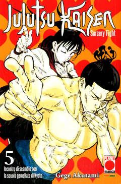 Copertina JUJUTSU KAISEN n.5 - MANGA HERO 40, PLANET MANGA