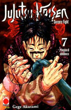 Copertina JUJUTSU KAISEN n.7 - MANGA HERO 42, PLANET MANGA