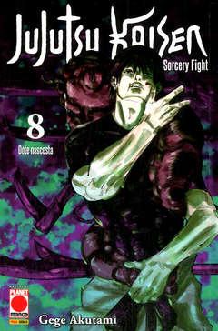 Copertina JUJUTSU KAISEN n.8 - MANGA HERO 43, PLANET MANGA
