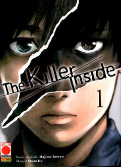 Copertina KILLER INSIDE n.1 - THE KILLER INSIDE, PLANET MANGA