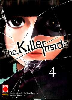 Copertina KILLER INSIDE n.4 - THE KILLER INSIDE, PLANET MANGA