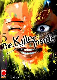 Copertina KILLER INSIDE n.5 - THE KILLER INSIDE, PLANET MANGA