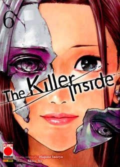 Copertina KILLER INSIDE n.6 - THE KILLER INSIDE, PLANET MANGA