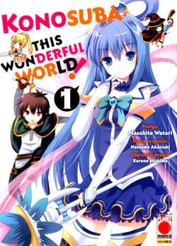 Copertina KONOSUBA! THIS WONDERFUL WORLD n.1 - CAPOLAVORI MANGA 143, PLANET MANGA