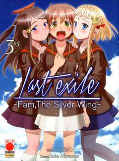 Copertina LAST EXILE FAM THE SILVER WING n.3 - LAST EXILE FAM THE SILVER WING, PLANET MANGA