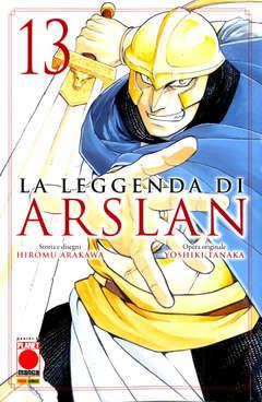 Copertina LEGGENDA DI ARSLAN n.13 - SENKI 15, PLANET MANGA