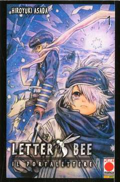 Copertina LETTER BEE n.1 - LETTER BEE Ristampa, PLANET MANGA