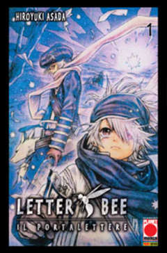 Copertina LETTER BEE n.1 - LETTER BEE, PLANET MANGA