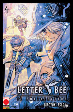 Copertina LETTER BEE n.4 - LETTER BEE, PLANET MANGA