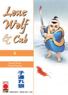 Copertina LONE WOLF AND CUB n.6 - LONE WOLF AND CUB, PLANET MANGA