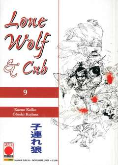 Copertina LONE WOLF AND CUB n.9 - LONE WOLF AND CUB, PLANET MANGA