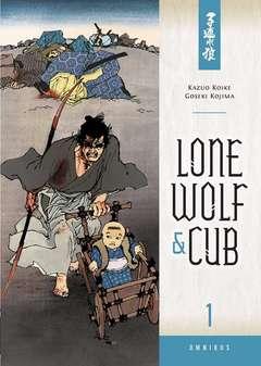 Copertina LONE WOLF & CUB Omnibus n.1 - LONE WOLF & CUB - Omnibus, PLANET MANGA