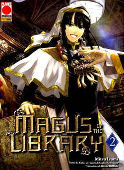 Copertina MAGUS OF THE LIBRARY n.2 - MAGUS OF THE LIBRARY, PLANET MANGA