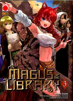 Copertina MAGUS OF THE LIBRARY n.3 - MAGUS OF THE LIBRARY, PLANET MANGA