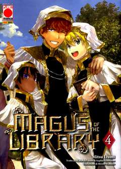 Copertina MAGUS OF THE LIBRARY n.4 - MAGUS OF THE LIBRARY, PLANET MANGA