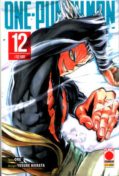 Copertina ONE-PUNCH MAN Ristampa n.12 - ONE-PUNCH MAN - Ristampa, PLANET MANGA