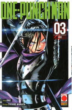 Copertina ONE-PUNCH MAN Ristampa n.3 - ONE-PUNCH MAN, PLANET MANGA