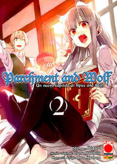 Copertina PARCHMENT AND WOLF n.2 - PARCHMENT AND WOLF, PLANET MANGA