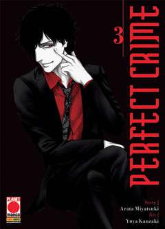 Copertina PERFECT CRIME n.3 - PERFECT CRIME, PLANET MANGA
