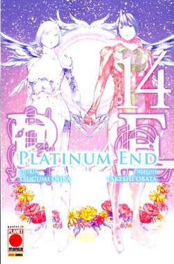 Copertina PLATINUM END n.14 - MANGA FIGHT 50, PLANET MANGA