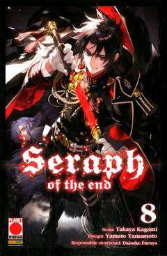 Copertina SERAPH OF THE END n.8 - SERAPH OF THE END, PLANET MANGA