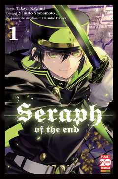 Copertina SERAPH OF THE END n.1 -  SERAPH OF THE END, PLANET MANGA