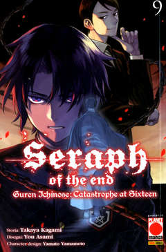 Copertina SERAPH OF THE END GUREN... n.9 - GUREN ICHINOSE: CATASTROPHE AT SIXTEEN, PLANET MANGA