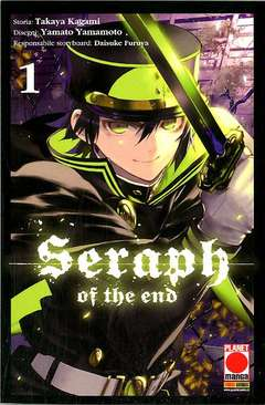 Copertina SERAPH OF THE END n.1 - SERAPH OF THE END Ristampa, PLANET MANGA