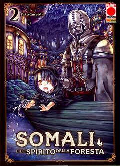 Copertina SOMALI E LO SPIRITO DELLA... n.2 - SOMALI E LO SPIRITO DELLA FORESTA, PLANET MANGA