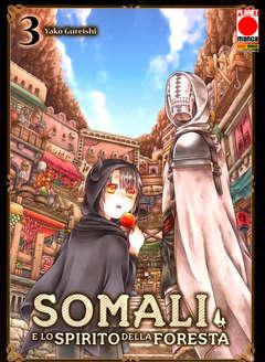 Copertina SOMALI E LO SPIRITO DELLA... n.3 - SOMALI E LO SPIRITO DELLA FORESTA, PLANET MANGA